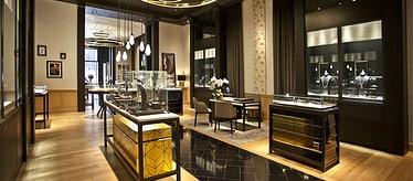 Boutique Piaget à Beverly Hills - montres et joaillerie de luxe