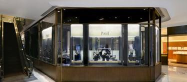 Boutique Piaget à Pékin - bijoux et montres de luxe