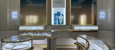 Boutique Piaget à Shanghai - bijoux et montres de luxe