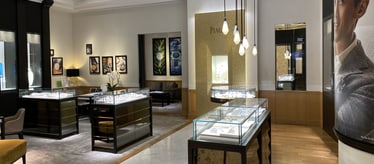 Boutique Piaget à Singapour - bijoux et montres de luxe