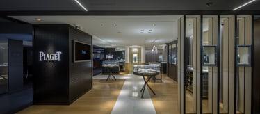 Montres et bijoux de luxe - Piaget Boutique à Tokyo Japon