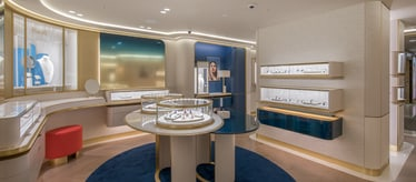 Piaget jewellery and watch boutique in Tokyo Japan