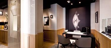 Boutique Piaget à Paris - bijoux et montres de luxe