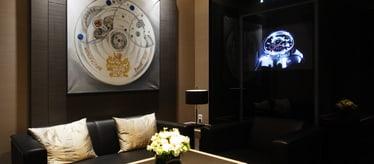 Piaget men luxury watch boutique in Seoul