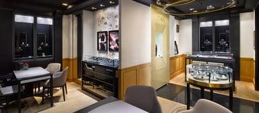 Boutique Piaget à Hong Kong - bijoux et montres de luxe