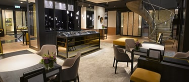 Boutique Piaget Mandarin Oriental à Hong Kong - montres et joaillerie de luxe