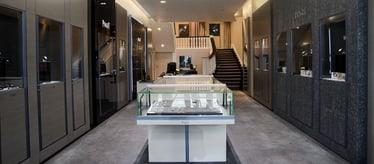 Boutique Piaget New Bond Street à Londres - montres et joaillerie de luxe