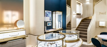 Piaget jewellery and watch boutique in Monaco