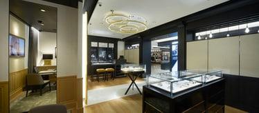 Boutique Piaget Shinsegae Myeong-dong DF à Séoul - montres et joaillerie de luxe