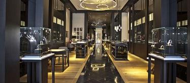Boutique Piaget à Beverly Hills - bijoux et montres de luxe