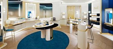 Boutique Piaget Ocean Terminal à Hong Kong - montres et joaillerie de luxe