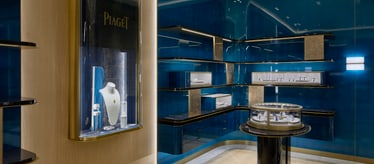 Piaget jewellery and watch boutique in Jeju