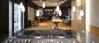 Montres de luxes Piaget - Boutique Rue du Rhône à Genève