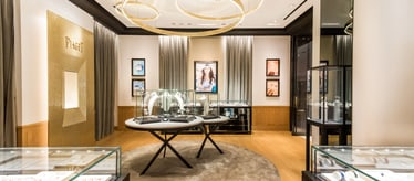 Piaget jewellery and watch boutique in Changsha China