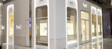 Boutique Piaget Hudson Yards à New York - montres et joaillerie de luxe