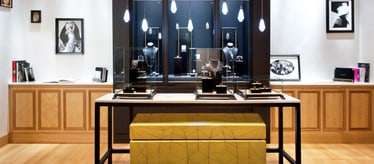 Boutique Piaget à Zurich - bijoux et montres de luxe
