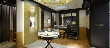 Piaget jewellery and watch boutique in Seoul South Korea