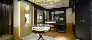 Montres et bijoux de luxe - Piaget Boutique à Séoul Corée du Sud