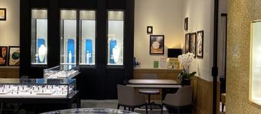 Boutique Piaget Marina Bay Sands à Singapour - montres et joaillerie de luxe