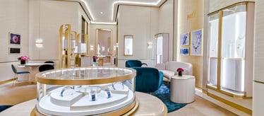 Boutique Piaget à Doha - bijoux et montres de luxe