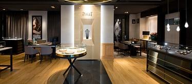 Montres et bijoux de luxe - Boutique Piaget de Genève